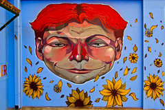 """Mr. SUNFLOWER"" (CAKTUS&MARIA) Tags: san maria e 2014 severo caktus artvillage"