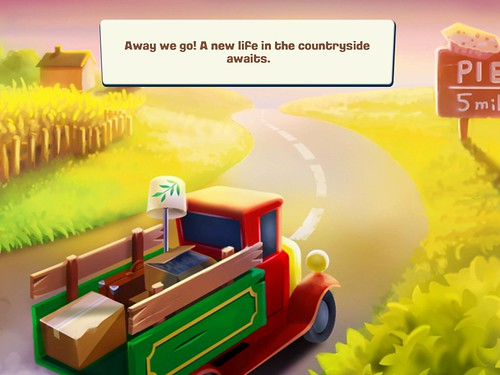 Hay Day Story: screenshots, UI