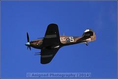 Hawker Hurricane Mk2C (G.L. Photography) Tags: lifeboat devon lancaster spitfire blades redarrows raiders chipmunks seaking rnli spearman beech18 dawlishairshow yak32