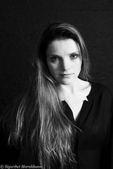 Ágústa Íris VI (Guruinn) Tags: woman girl studio model makeup messy brunette mua 2014 messedup sjãºsk ãgãºstaãrishelgadã³ttir