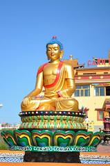 Buddha (Victoria Lea B) Tags: sculpture statue buddha buddhist buddhism mongolia monastery nalaikh sainnomunmonastery
