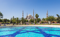 Turkey - Istanbul -  Blue Mosque - 07 07 2014 (Redstone Hill) Tags: turkey muslim islam istanbul mosque bluemosque sultanahmet 500px neilbirchall