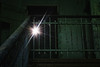 (Amberview) Tags: green stairs lost star darkness staircase sunstar abaondoned beelitz sanatory