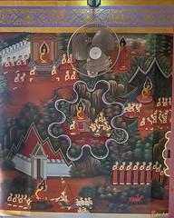 Wat Khao Rang Ubosot Interior Paintings (DTHP0563) วัดเขารัง ภาพวาดตกแต่งภายใน อุโบสถ