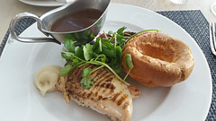 Roast Chicken, The Grand Hotel, Brighton. (Man of Yorkshire) Tags: food chicken dinner menu lunch sussex hotel brighton sauce sunday sausage grand gravy roast watercress