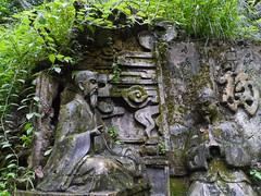 Emei Shan fresco (Niall Corbet) Tags: china mountain statue stone forest hiking buddhist buddhism carving hike unesco worldheritagesite relief emeishan sichuan mountemei