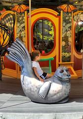 The Greenway Carousel (Sallyrango) Tags: usa playing boston children ma play fairground candid roundabout carousel rabbits massachussetts kidsatplay rosekennedygreenway rosefkennedy