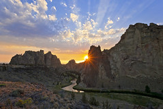Smith Rock State Park (JH Photographie) Tags: park face rock oregon monkey state central smith climbing select terrabonne