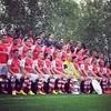 2014 squad, the real #RedArmy ready to fight! Arsenal vs Man City home game, Match of the day!! Elenco de 2014, o verdadeiro exército vermelho, preparado para guerrear! Arsenal vs Man City jogo em casa, jogo do dia!! #MatchDay #AFCMCFC #Poldi #aha #Emirat