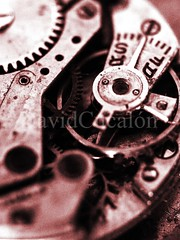 Time mechanisms (David Cucaln) Tags: life old blur macro clock 35mm still time watch olympus textures desenfoque reloj gears viejo texturas bodegon fineartphotography grano e510 grane engranajes mechanisms mecanismo 2013 cucalon davidcucalon