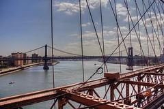 New York City (ClarkT1957) Tags: newyorkcity newyork manhattan brooklynbridge manhattanbridge eastriver