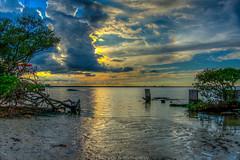 Power Clouds (dbubis) Tags: ocean sunset beach clouds tampa tampabay florida fl iridescence hdr gandy bubis dbphoto nex6 dbubisphoto ilovetampabay