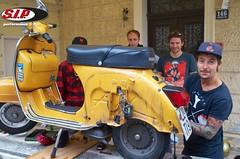 KrotienVespaTour_SIPScootershop2014 106 (sipscootershop) Tags: club vespa tour scooter lambretta roller opatija sip rijeka motorroller vrsic sipscootershop crovespa