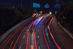Highway (j_like) Tags: nightphotography canon highway long downtown houston 85mm f12 longexplosure explosure houstondowntown canon85mmf12l canonmarkii