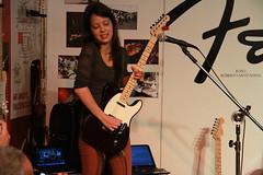 Juliana Vieira Live at Expomusic 2014 - Sao Paulo - Brasil (Roberto Sant'Anna) Tags: guitar juliana paulo sao rbs vieira expomusic