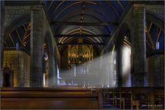 Eglise de Sizun - Finistère (jyleroy) Tags: france church lumix brittany europe bretagne breizh panasonic église finistère sizun fz200