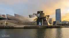 Guggenheim - Bilbao (mun2 ilumina2) Tags: city espaa spain ciudad bilbao guggenheim euskadi bilbo pasvasco zubizuri vizcaia