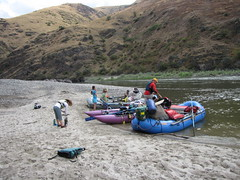 Floating into Fifty (Doug Goodenough) Tags: salmon river snake float raft boat cataraft birthday 50 fifty camping jen scott bryan gail smiley rich susan 2014 14 august drg53114 drg53114bdayfloat drg531