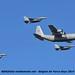 BAF überflug herc f-16
