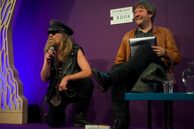 Julian Cope owned the stage at the Edinburgh International Book Festival