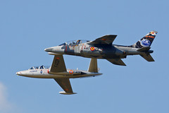 Alpha Jet & Fouga Magister (Jarco Hage) Tags: airplane force aviation air days belgian base afb kleine 2014 brogel airschow ebbl keebee byjarcohage