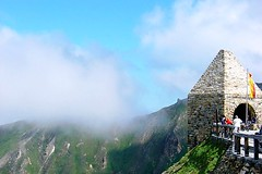 Look-out on the Grossglockner High Alpine Road, Austria (www.traveljunction.com) Tags: road mountain alps austria high carinthia alpine biking mountainbiking austrian grossglockner salzburgerland austrianalps hohetauernnationalpark highestmountaininaustria famousmountainroad scenicalpinedrive