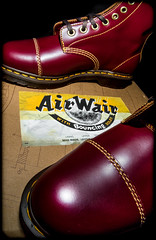 DM Cappers. (CWhatPhotos) Tags: pictures camera original red leather yellow digital that lens cherry four photography foto with hole image artistic pics picture 8 pic olympus images holes have photographs photograph fotos micro stitching sole doc marten which soles dm eight docs fit contain 43 bouncing airwair thirds docmartens martens dms oxblood em10 mft esystem capper bouncingsoles cappers cwhatphotos olympusem10