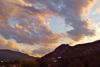 Nubes al atardecer_2 .........70/365