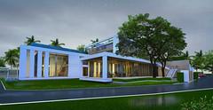 Artlantis Render Of Architectural Perspective (Taweesak Boonwirut) Tags: sport surf spot hua hin huahin surfspot