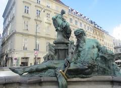 Donnerbrunnen - I (cohodas208c) Tags: donnerbrunnen fountain neuermarkt vienna sculpture publicart rivergods georgraphaeldonner