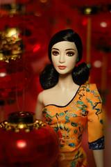 Fan Bing Bing Barbie Doll (@rafazapatta) Tags: fanbingbing china red barbiedoll mattel portrait lamps