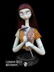 Sally (Linayum) Tags: sally jackskeleton jackskellington pesadillaantesdenavidad thenightbeforechristmas timburton weird scars linayum