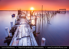 Portugal - Alcácer do sal - Palafito Pier of Carrasqueira - Masterpiece of folk architecture at Sunset (© Lucie Debelkova / www.luciedebelkova.com) Tags: alcácerdosal palafitopierofcarrasqueira carrasqueira portugal portuguese mirandese portugueserepublic repúblicaportuguesa repúblicapertuesa portugalsko europe europeanunion southwesterneurope iberianpeninsula world exploration trip vacation holiday place destination location journey tour touring tourism tourist travel traveling visit visiting sight sightseeing water waterscape wasser agua coast coastline shoreline shore mar mer sea meer zee mare océan ocean seascape seaside coastal beach praia playa plage spiaggia strand lake wonderful fantastic awesome stunning beautiful breathtaking incredible lovely nice best perfect wwwluciedebelkovacom luciedebelkova