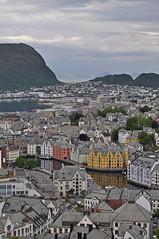Norway - Alesund - view from Aksla