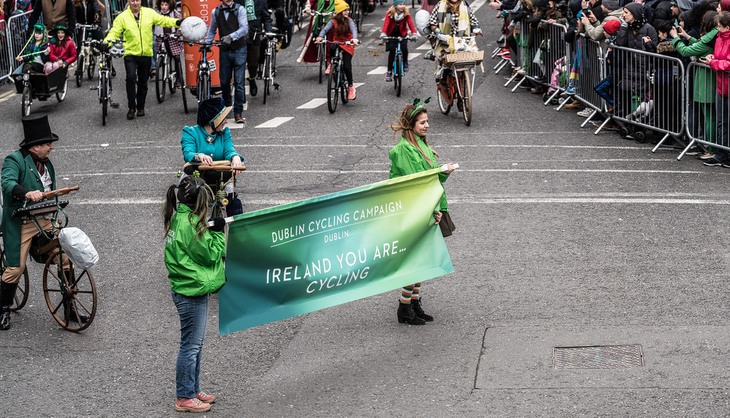 DUBLIN CYCLING  CAMPAIGN [ ST PATRICKS DAY PARADE 2017]-125811