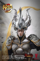 VERYCOOL TOYS VCF-DZS004 神将捍天 Exiled GOD - 06 (Lord Dragon 龍王爺) Tags: 16scale 12inscale onesixthscale actionfigure doll hot toys verycool