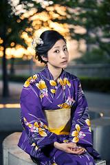 Hair accessory shoot in Osaki (Ookami kvlt) Tags: japan canon tokyo shoot yukata 50 product osaki honl strobist smdv 5dmkii
