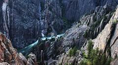 Black Canyon of the Gunnison NP_22 (Circled Thrice) Tags: wild nature canon river eos rebel colorado kayak natural sigma canyon rapids kayaking co wilderness gunnison t3i blackcanyonofthegunnisonrivernationalpark