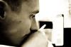 1400197_402515919874834_463168355_o (pharmazon) Tags: portrait man look eyes sad odessa ukraine thinking brunette cigarettesmoke