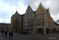 Leibnizhaus on Holzmarkt Hannover (Joseph Lanzon) Tags: hannover leibniz holzmarkt