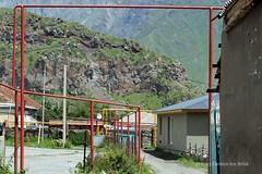 Pipes of the Caucasus - Kazbegi (10b travelling) Tags: georgia asia asien europa europe pipes pipe gas monastery caucasus sovietunion ussr eurasia sakartvelo kazbegi kaukasus 2013 carstentenbrink tsmindasamenda
