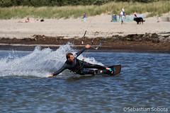 Kitesurfer (Sebastian..S) Tags: sport strand canon fun eos meer insel 7d mann ostsee kitesurfer kitesurfen poel