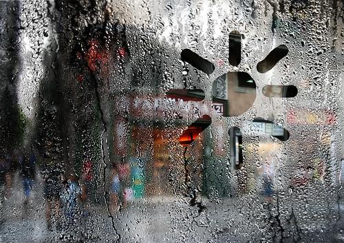vidrio empañado
