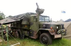 M35 2 1/2 Ton Truck (MJ_100) Tags: show truck army military lorry usarmy reo revival warandpeace m35 deuceandahalf