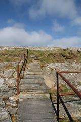 (RucksackundKamera) Tags: england castle cornwall treppe falmouth küste treppen pendennis treppenstufen