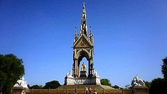 picture206 (nigelgstyring) Tags: city uk england urban colour london monument outdoors gold albert capital parks statues hydepark ornate memorials