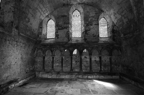 Dryburgh Abbey, Chapter House