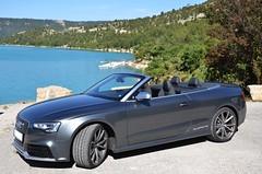Audi RS5 Cabriolet (DennisGRILLT) Tags: auto road france car germany frankreich power engine 8 roadtrip s made mai cylinder audi rs a5 cabrio 42 v8 kraft liter litre 4wheeldrive cabriolet s5 quattro 2014 zylinder sline neckarsulm allrad rs5 provencealpescte 8zylinder dazur 450ps 331kw unsupercharged