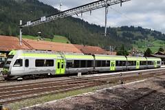 BLS Electric trainset type RABe 535 Ltschberger. (Franky De Witte - Ferroequinologist) Tags: de eisenbahn railway estrada chemin fer spoorwegen ferrocarril ferro ferrovia