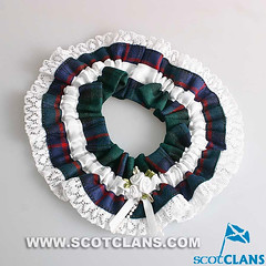 Clan Armstrong Tartan Wedding Garter